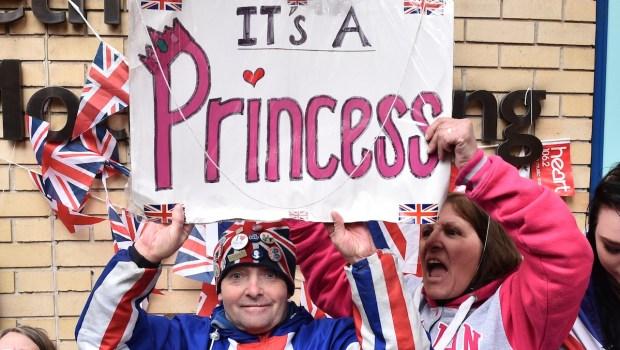 Royal Baby Fans Celebrate