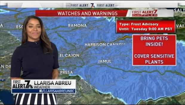 Llarisa Abreu's Forecast for February 18th, 2019