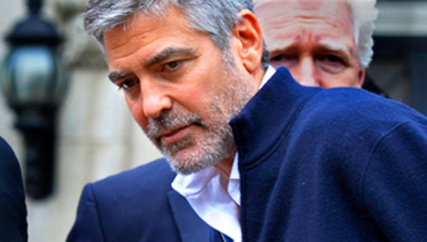 Clooney Arrested at Sudanese Embassy