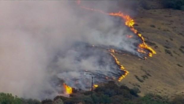 [BAY] Morgan Fire Near Mt. Diablo Doubles, Chars 1,500 Acres