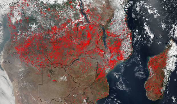 [NATL-LA GALLERY UPDATED 9/14] Smoke and Fire From Space: Wildfire Images From NASA Satellites