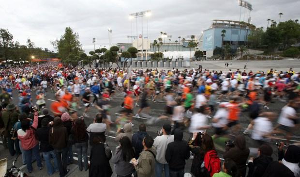 Images: 2011 LA Marathon