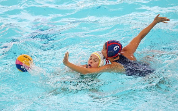 U.S. Water Polo: Maggie Steffens