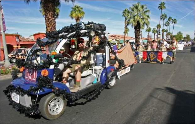 [WORTH THE DRIVE] Palm Desert Golf Cart Parade