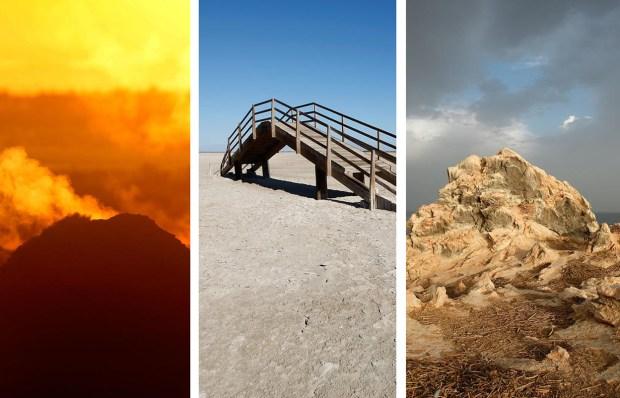 The Otherworldly Landscape of California's Salton Sea in Photos