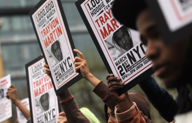 "Million ""Hoodie"" March for Trayvon Martin"