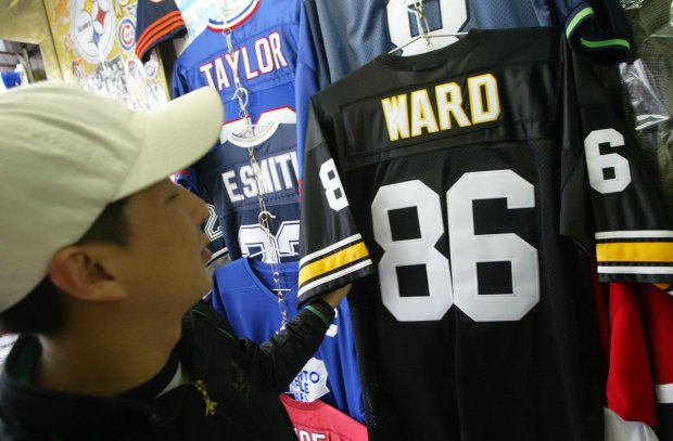 Top-Selling NFL Jerseys