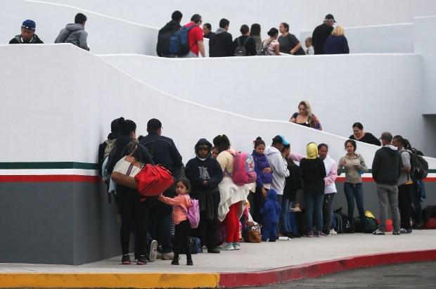 [NATL-LA GALLERY] Scenes From the Border: Asylum Seekers Wait Their Turns in Tijuana