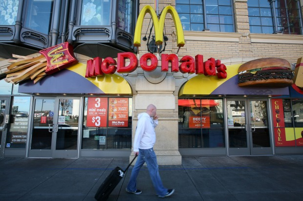As the Economy Cools, McDonald's Sizzles