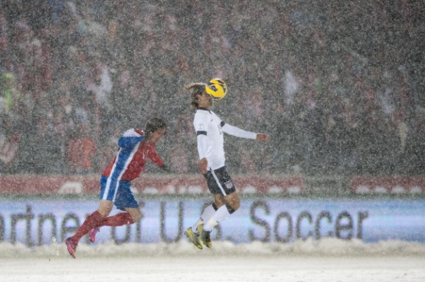 Snowy FIFA 2014 World Cup Qualifier Match