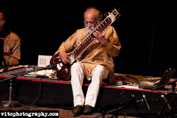 Ravi Shankar in Escondido
