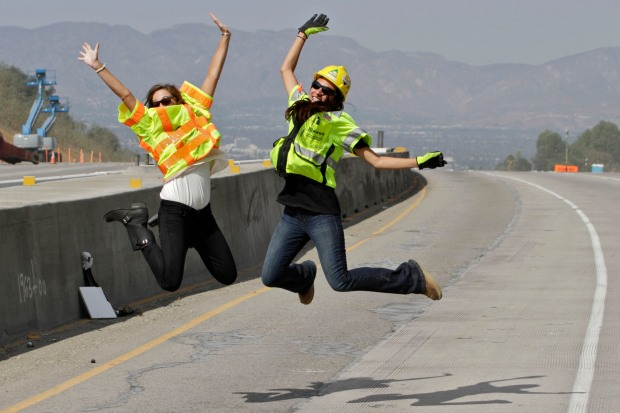 Carmageddon II: The 405 Freeway Closure in Images