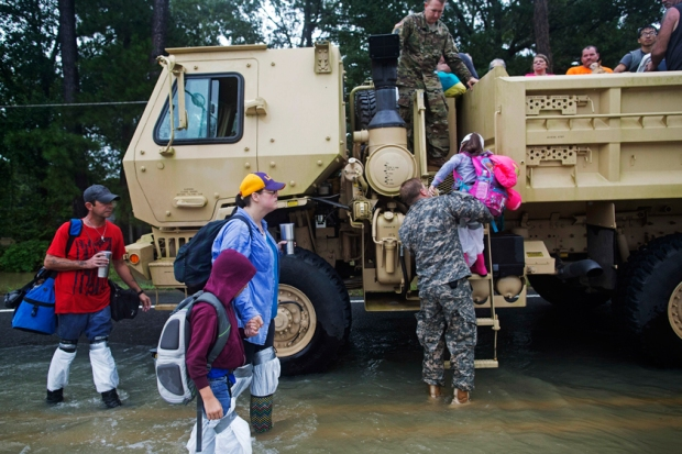 [NATL] Dramatic Images: Devastating Louisiana Floods