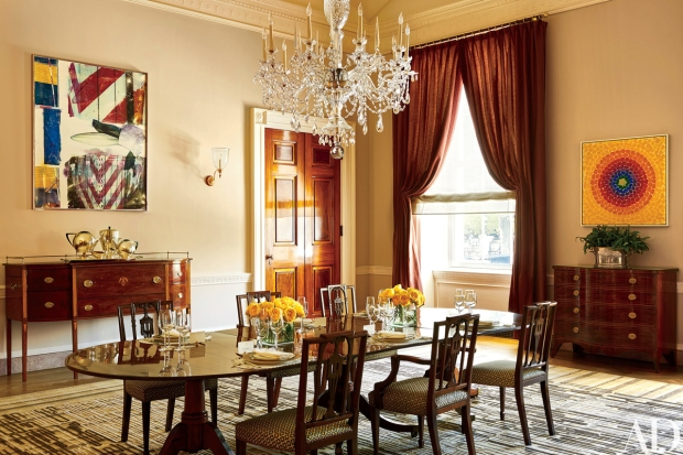 Take a Peek Inside Living Quarters at the White House