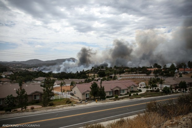 Incredible Photos from the West Fire