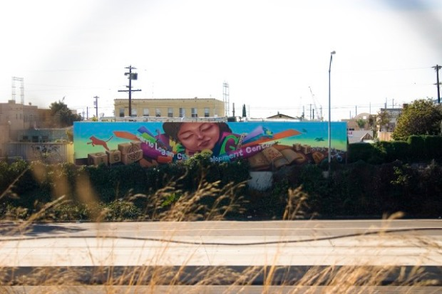 A Mural Is Born in Barrio Logan