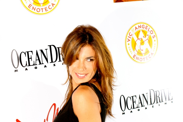 Elisabetta Canalis Hits South Beach