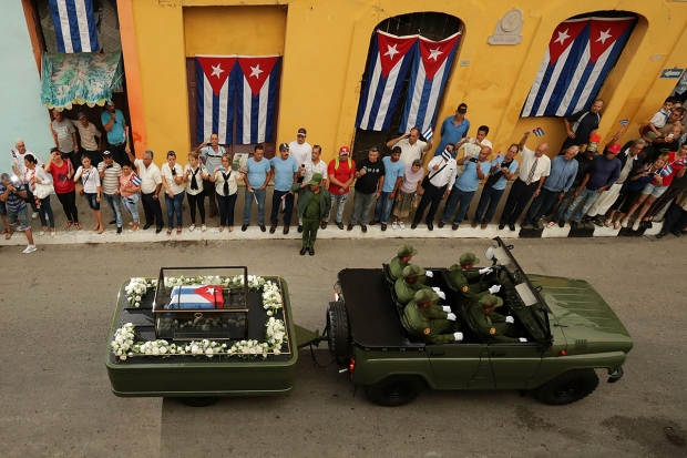 [NATL] Cubans Mourn, Pay Final Respects to Fidel Castro