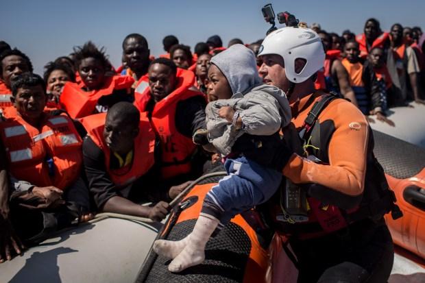 [NATL] Dramatic Images: Europe's Migrant Crisis