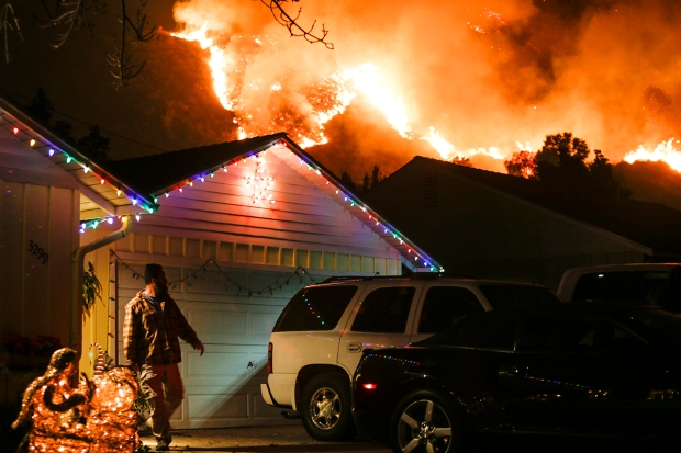 Wildfires Scorch Homes, Horses Across Southern California
