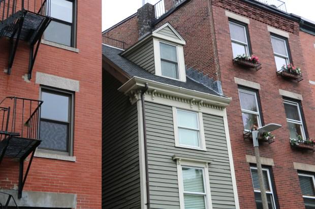 A Look Inside Boston's Super Skinny 'Spite Home'