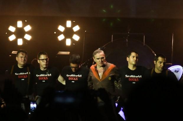 LIVE: Morrissey