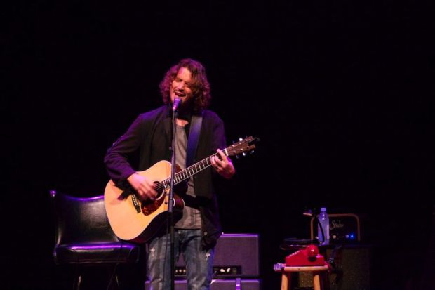 Chris Cornell Opens Songbook in SD