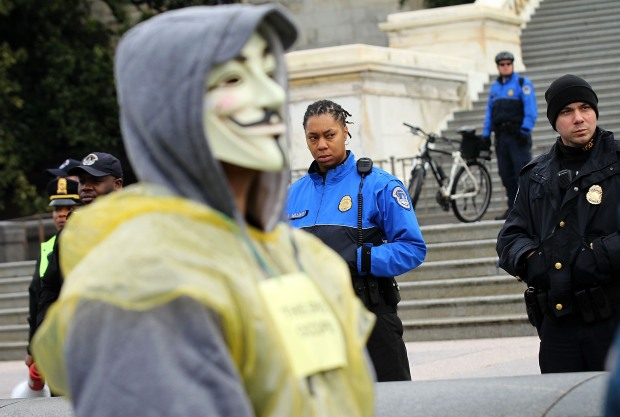 Occupy DC Holds Occupy Congress Rally
