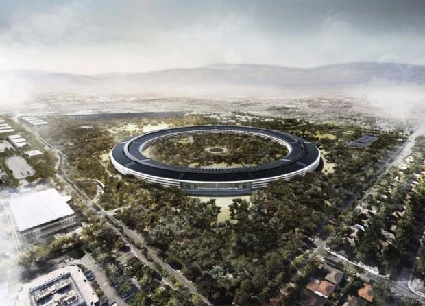 Apple's New 'Spaceship' HQ in Pictures (Renderings)