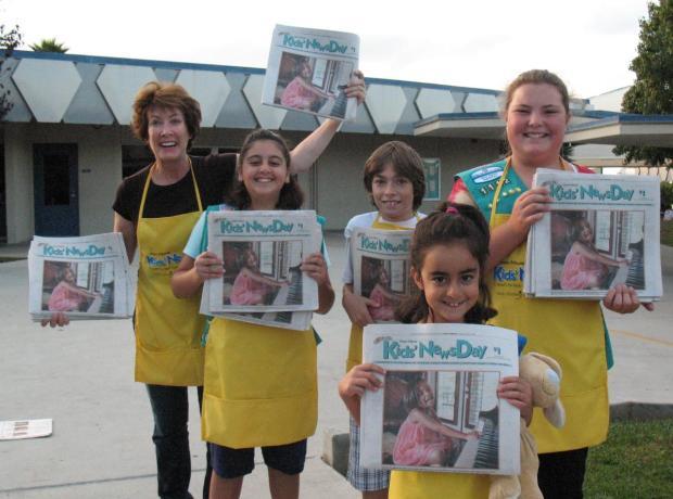 Images: Kids' NewsDay 2009