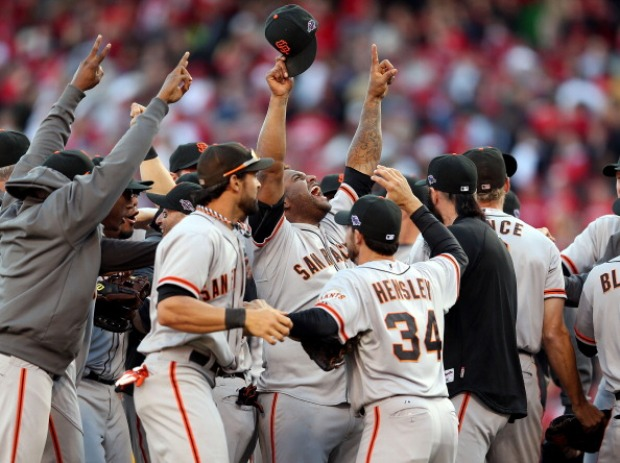Giants Advance to NLCS