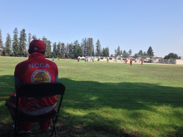 Cricket (What Else?) in Silicon Valley on July 4 Holiday