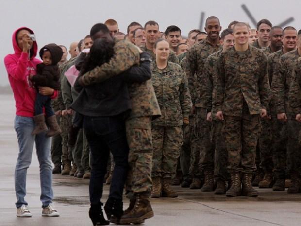 Images: U.S.S. Peleliu Homecoming