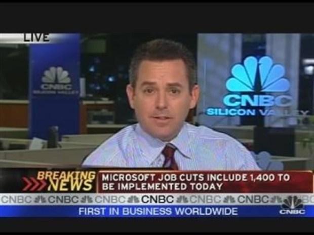 [CNBCS] Microsoft to Cut 5,000 Jobs
