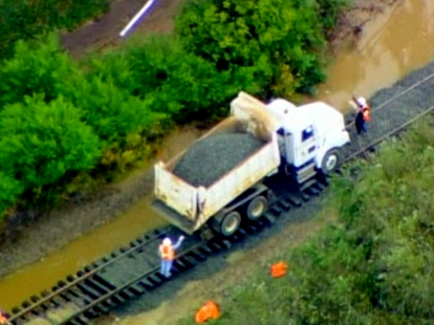 [DGO] Raw Video, Train Track Damage