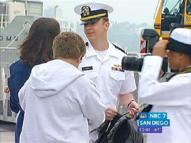 San Diego Welcomes Home USS Ronald Reagan