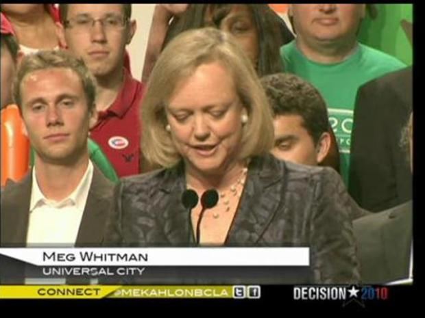 [LA] Meg Whitman Admits Defeat