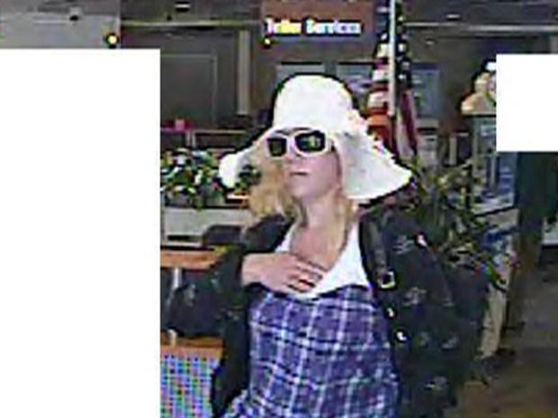 Lady Bandit Knocks Over 3 Banks