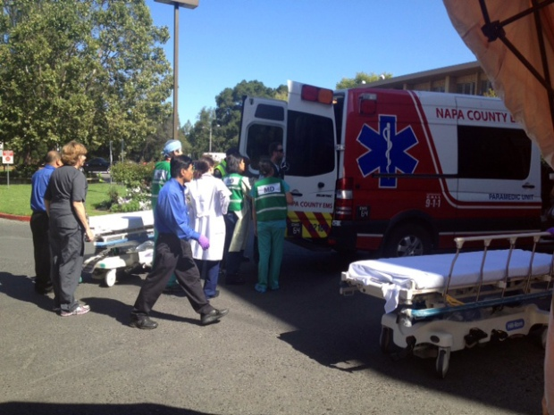 Day-of-Crash Photos: Asiana Victims Transported to Stanford Hospital
