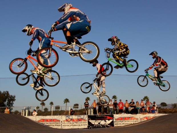 BMX Racers Defy Gravity in Chula Vista