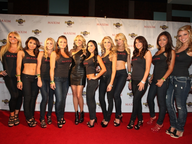 Screen Grabs: Star Guests, DJ Rock Hard Rock Hotel Maxim Bash