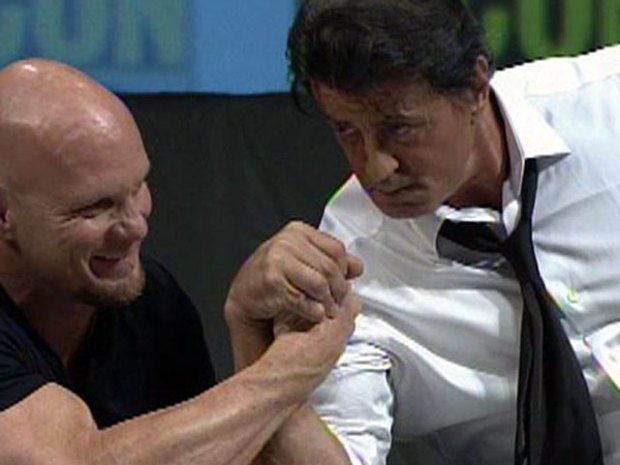 [DGO] Stallone Talks Arm Wrestling
