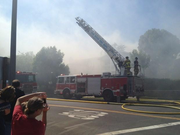 Fire Sparks in Coronado