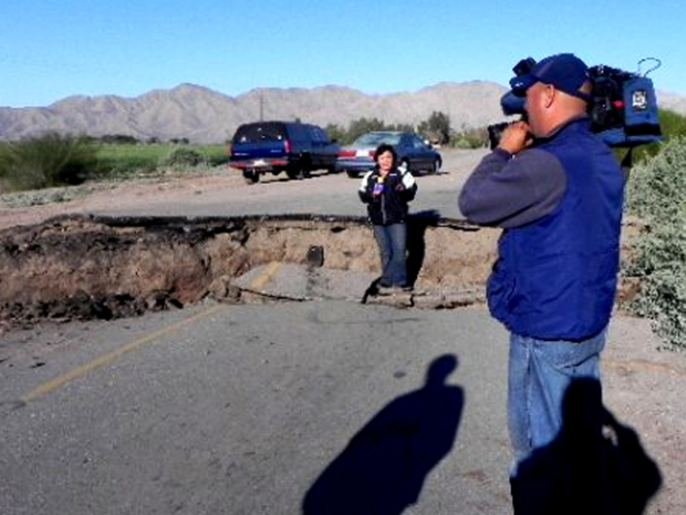 Lastest Quake Photos From Mexico