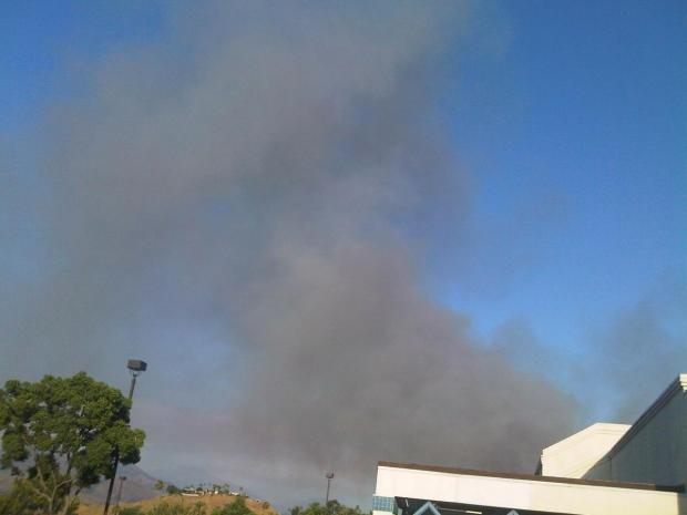 Viewer Images: Morris Fire Burns in Angeles Forest