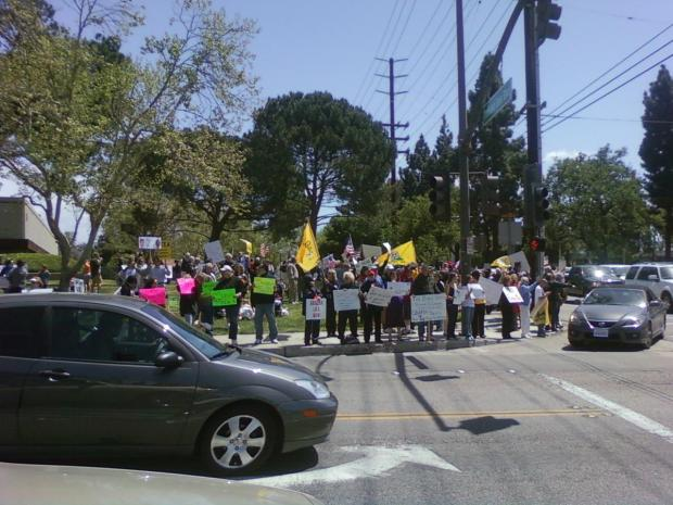 Viewer Photos from Calif. Tea Parties