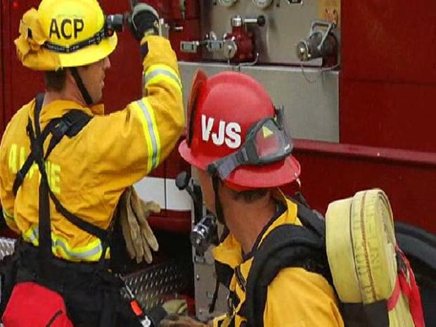 Fire Crews Stage County Wildland Drill