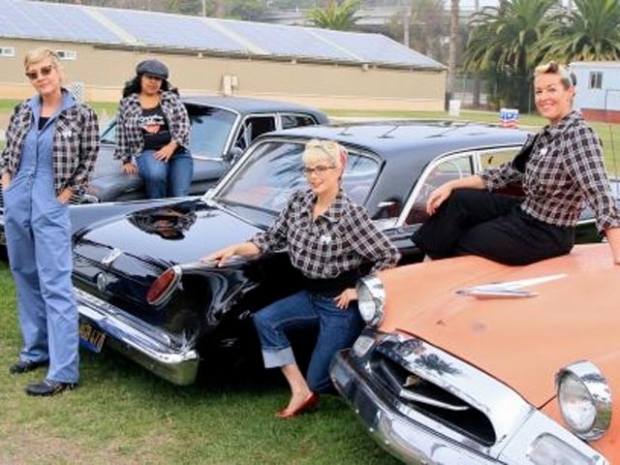 "[LA] SoCal Car Lovers Unite as ""Gasoline Girls"" Club"