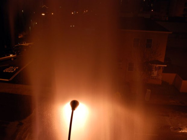 Apartments Damaged in Hydrant Crash