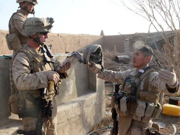 Photos of Pendleton Marines in Helmand